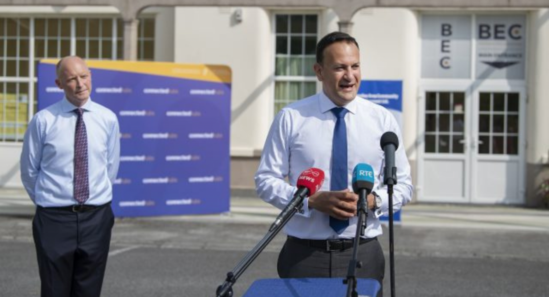 Leo Varadkar visits Connected Hub in Ballinasloe as part of Making Remote Work campaign