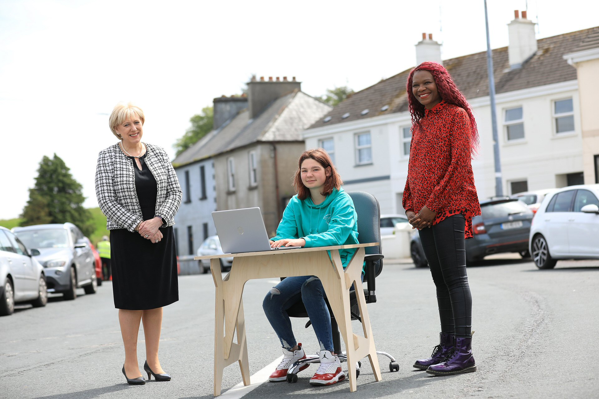 Minister Heather Humphreys launches Connected Hubs platform